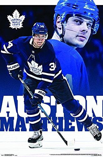 "Trends International Toronto Maple Leafs - Auston Matthews Wall Poster 22.375"" x 34"" Multi"