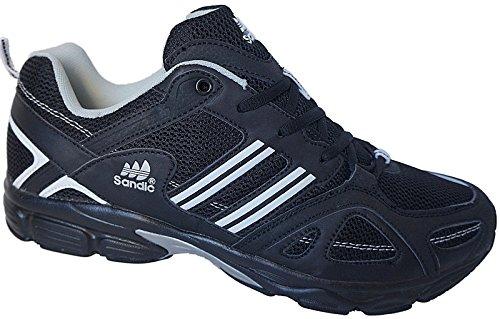 Herren Sportschuhe Sneaker Turnschuhe Schuhe Übergröße gr.47 - 49 Art.-Nr.1326 schwarz-weiß