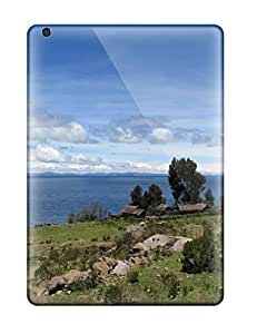 New Arrival Cover Case With Nice Design For Ipad Air- Titicaca Lake