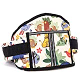 Adjustable Kids Children Seat Belt Motorcycle Safety Harness Strap Bicycle Ride Carrier Baby Child Seat (Cartoon)