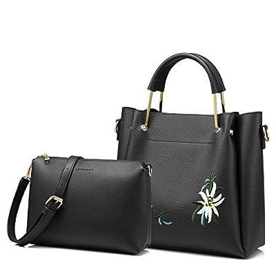 LOVEVOOK Clear Tote Bag with Turn Lock Closure Girly PVC Crossbody Bag