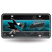 NHL San Jose Sharks Metal Auto Tag
