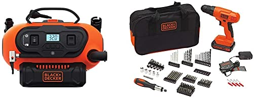 BLACK DECKER BDINF20C 20V Lithium Cordless Multi-Purpose Inflator Tool Only