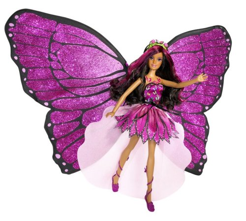 Barbie Mariposa Magic Wings Mariposa Doll - Barbie Mariposa Wings