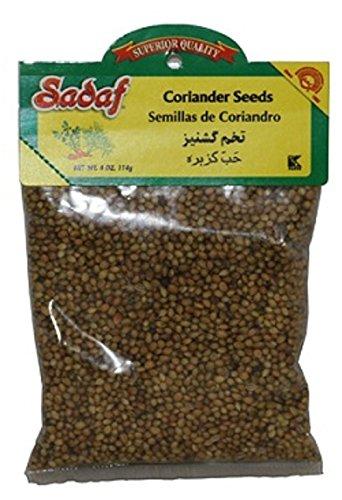 Sadaf Coriander Seeds, 4 Oz (Pack of 2)