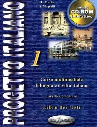 Progetto Italiano 1: Beginning - Intermediate (Italian Edition)