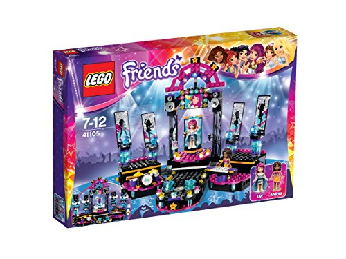 LEGO-Friends-Set-Pop-Star-Escenario-multicolor-41105