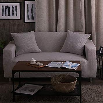 Ssdlrsf Melange Stricküberzug Universal Stretch Sofabezug Big