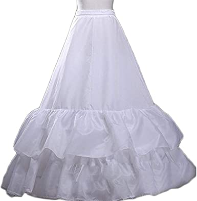 Waist Options Length Choose from 28 Colours Floor Length Petticoat 2 Layers