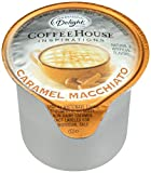 International Delight, Caramel Macchiato, Single-Serve Coffee Creamers, 288 Count, Shelf Stable Non-Dairy Flavored Coffee Creamer, Great for Home Use, Offices, Parties or Group Events