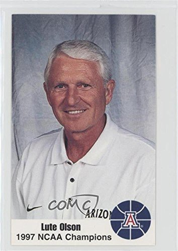 Lute Olson (Basketball Card) 1997-98 Arizona Wildcats Police - [Base] #LUOL
