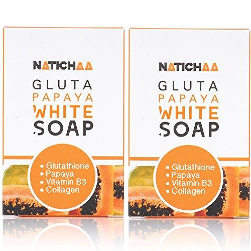 Glutathione Papaya Whitening Soap