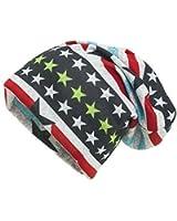 Shenky - Long bonnet en jersey - coloré - motif États-Unis