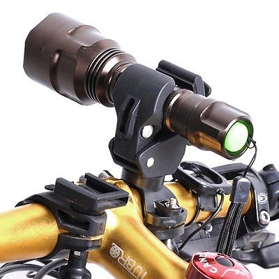 Universal Torch (Universal Bike Bicycle LED Light Flashlight Torch Lamp Mount Clamp Stand Holder)
