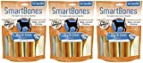 (3 Pack) SmartBones Functional Health Hip and Joint Care Chicken Treat Sticks for Dogs (16 Treats Per Pack / 48 Treats Total) For Sale