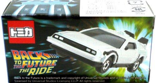 デロリアン(シルバー) 「トミカ BACK TO THE FUTURE THE RIDE」 ユニバーサル・スタジオ・ジャパン限定