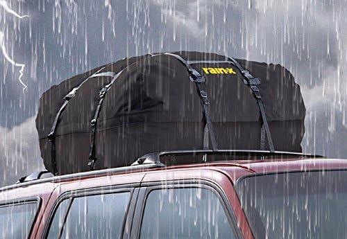 per auto e SUV o camion con o senza rastrelliere 30,5 m nero Borsa per portapacchi da tetto con cerniera impermeabile e rivestita Aaaspark