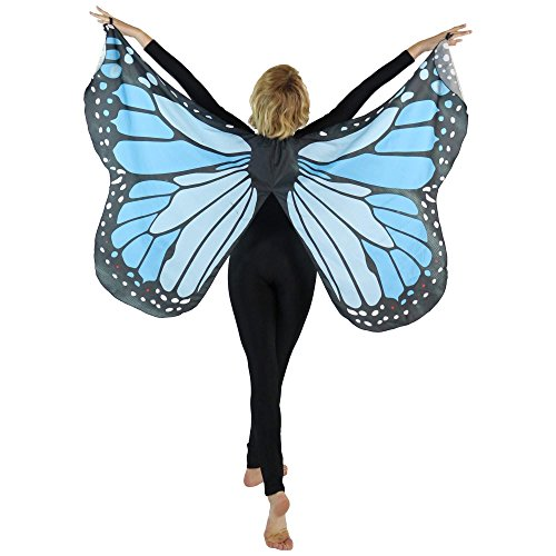 Danzcue Butterfly Isis Wings, Blue, M-L-Adult]()