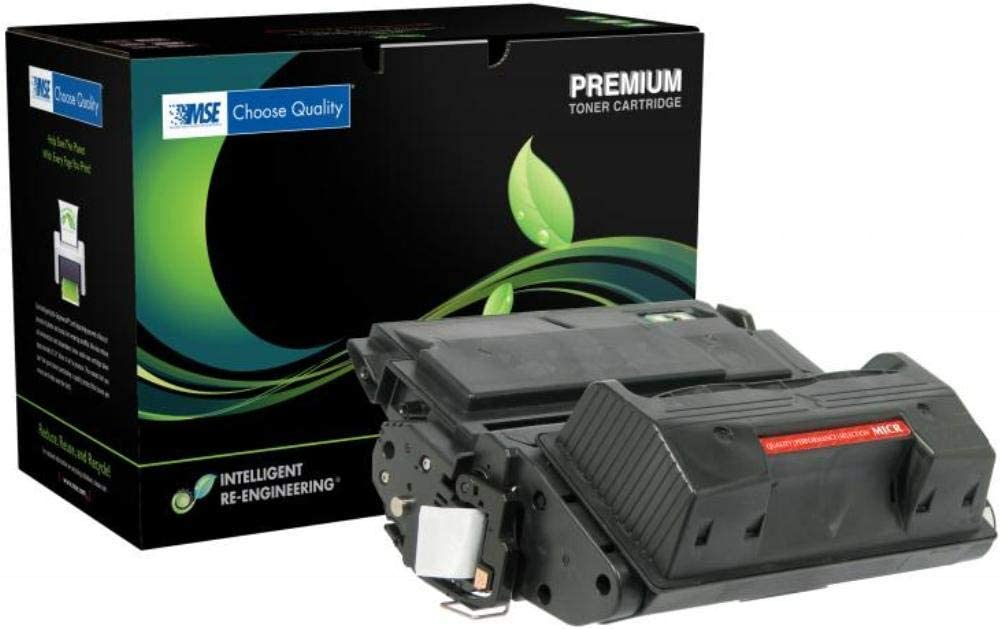 B0002I71MU MSE Model MSE02213915 Premium MICR Black Toner Cartridge for Use with HP Hewlett Packard LaserJet 4300, 4300DTN, 4300DTNS, 4300DTNSL, 4300N and 4300TN Printers; Up to 18000 Pages Yield 51D0R7XsC6L.SL1001_