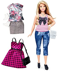 Barbie Fashionistas Doll & Fashions Everyday Chic, Curvy Blonde