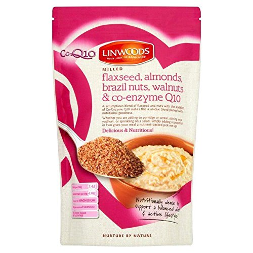 Linwoods Milled Flaxseed Almonds, Brazil & Q10 - 360g