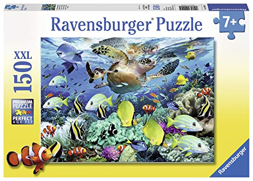 Ravensburger Underwater Paradise 150 Piece Jigsaw Puzzle for Kids – Every Piece is Unique, Pieces Fit Together Perfectly