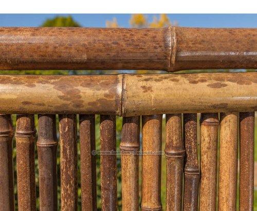 Raumteiler Aus Schwarzen Bambus 180 X 180cm 3teilig Raumtrenner