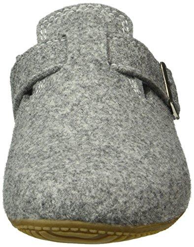 Erwachsene Kitzbühel Schnalle Pantoffel Living Pantoffeln mit 620 Grau Unisex Hellgrau LK aSPwPqEg