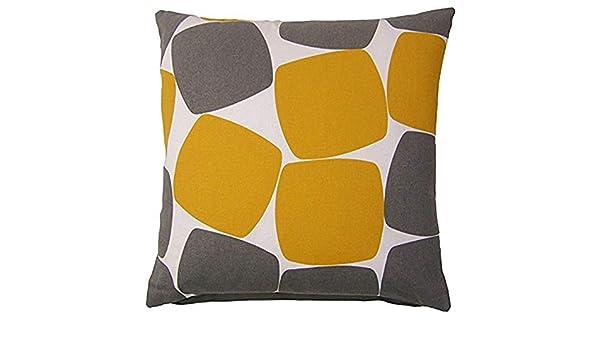 Dana34Malory Pebbles - Funda de cojín (100% algodón, 40 cm ...