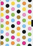 Fiesta Dots Locking Journal (Notebook, Diary) (2nd Gen Lock!) (Locking Journals)
