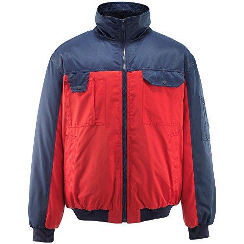 Mascot Bolzano Pilot Jacke XL, rot / marine, 00922-620-21