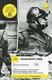 Mussolini's Italy, David Evans, 0071461477