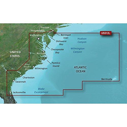 - Garmin Vus512l Mid Atlantic Bluechart G2 Vision