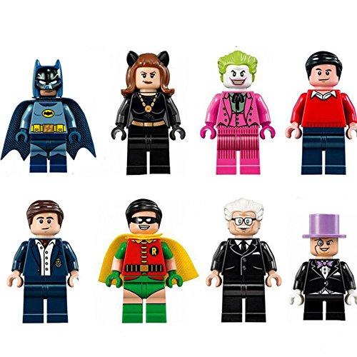 Classic Minifigures Brick Set Building Blocks Movie & Cartoon Action Figures