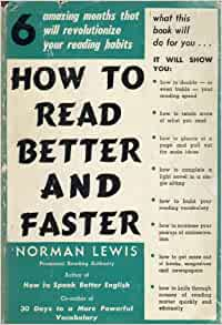 how to read faster and comprehend better