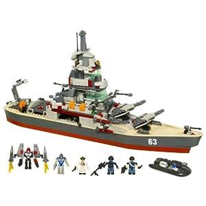 KRE-O Battleship U.S.S. Missouri Set (38977)(Discontinued by manufacturer)
