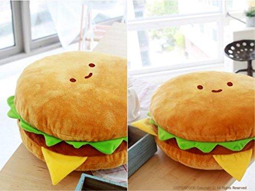 Hamburger Pillow | Food Plush 3