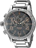 48 watch display case - Nixon Men's A4862064 48-20 Chrono Analog Display Analog Quartz Watch