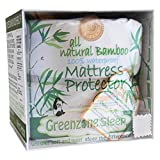 The Greenzone Collection BamTerry-2KPP-King Greenzone Bundled Bamboo Viscose King Mattress Protector with Terry Top & King Bamboo Viscose Pillow Protectors