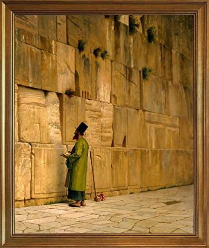 (Berkin Arts Framed Jean Leon Gerome Giclee Canvas Print Paintings Poster Reproduction(The Wailing)