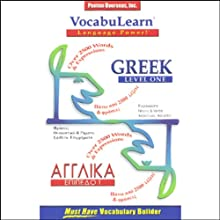 VocabuLearn: Greek, Level 1 Audiobook by  Penton Overseas, Inc.