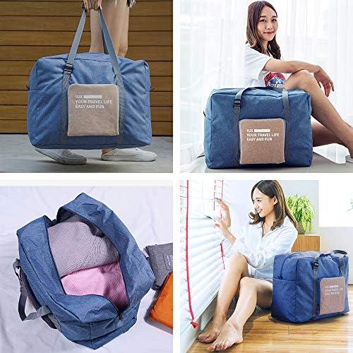 Travel Luggage Duffle Bag Lightweight Portable Handbag Climbing Rope Large Capacity Waterproof Foldable Storage Tote