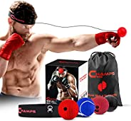 Champs MMA Boxing Reflex Ball - Boxing Equipment Fight Speed, Boxing Gear Punching Ball Great for Reaction Spe
