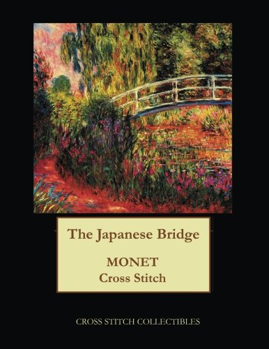 The Japanese Bridge: Monet cross stitch pattern