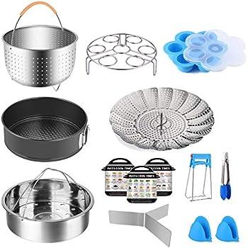 Amazon.com: Instant Pot Cooker Accesories Set – Accessory ...
