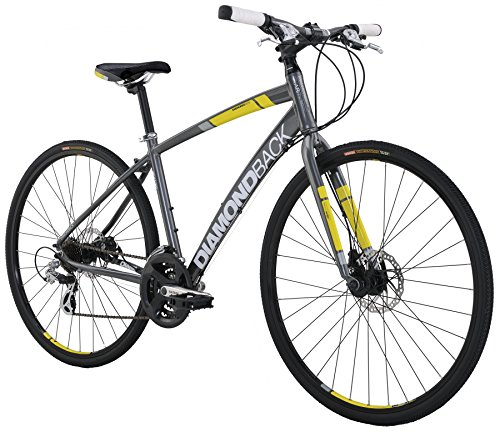 2016 Women's Clarity 2 Complete Performance Hybrid Bike, Dark Silver, 20 Inch large 20