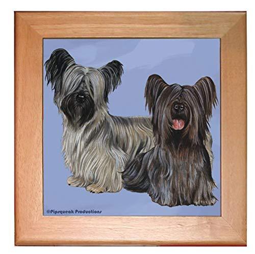PIPS001 Animal Pet Gifts, Skye Terrier Trivet