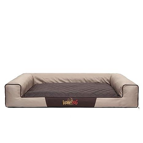 Cama rectangular para perros grandes VICTORIA XL/XXL (para perros o gatos grandes con colchón)
