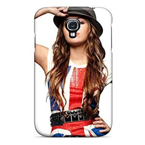 Awesome Miley Cyrus 65 Flip Case With Fashion Design For Galaxy S4