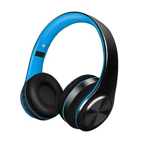 Alitoo Auriculares Inalámbricos Bluetooth,Plegable Auriculares Estéreo de Alta Fidelidad Cancelación de Ruido Auriculares con